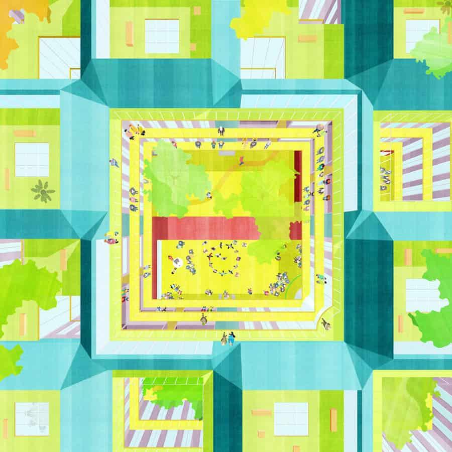 illustrazioni di architettura