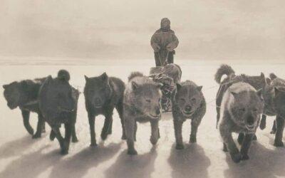 Rare fotografie della prima spedizione dell'uomo in Antartide