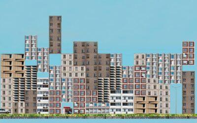 Tower Block Game, il Tetris con edifici modernisti al posto dei mattoncini