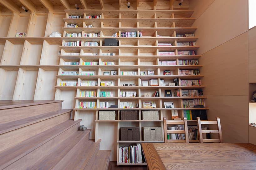 bookshelf house
