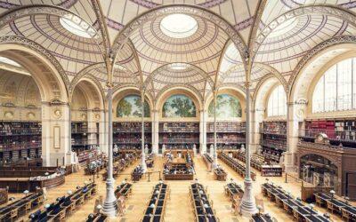 Le principali biblioteche europee fotografate da Thibaud Poirier