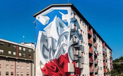 La street art tridimensionale di Peeta