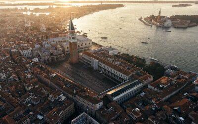 Tutta la bellezza di Venezia vista dall'alto