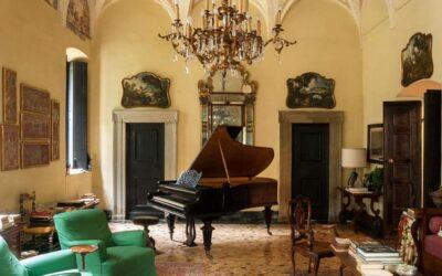 Villa Albergoni, la seconda dimora di Luca Guadagnino