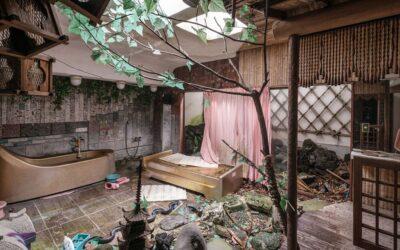 I luoghi misteriosi ed abbandonati di Romain Veillon