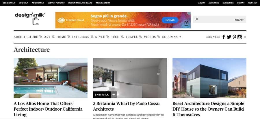 i migliori siti di architettura e design da prendere come