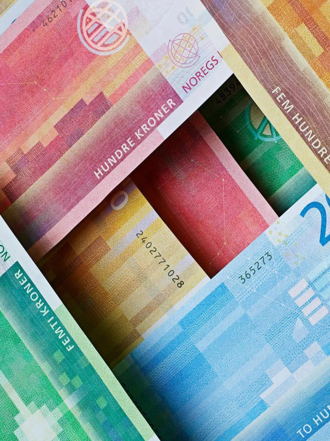banconote norvegesi