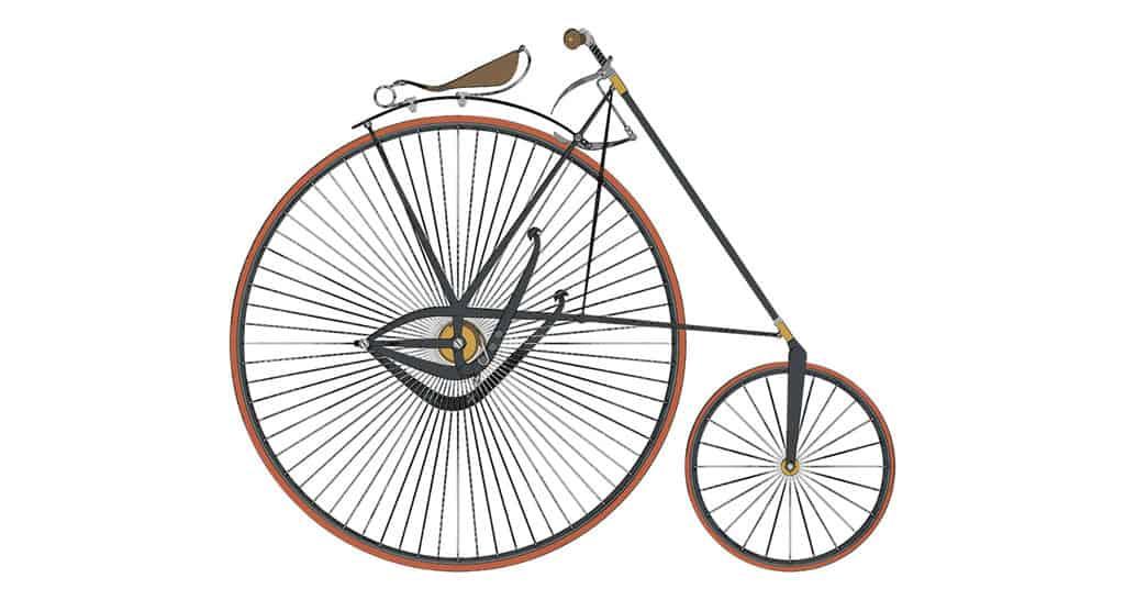 evoluzione della bicicletta