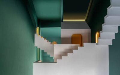 Le Guestrooms surreali di Studio 10 nel complesso residenziale The Other Place