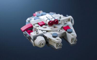 I Microfighters di David González ispirati al mondo Lego Star Wars