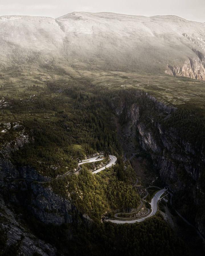 montagne scandinavia