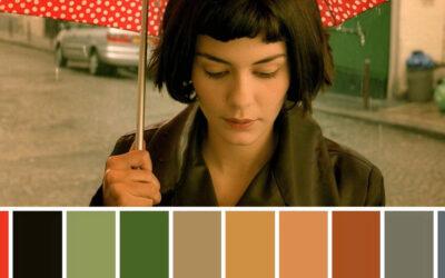 Il significato dei colori nei film nel progetto di Color Palette Cinema