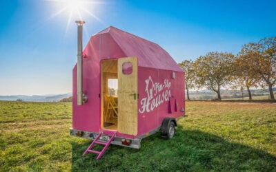 La Magenta Tiny house