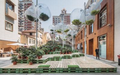 Urban Bloom, trasformare un parcheggio in un giardino urbano ideale