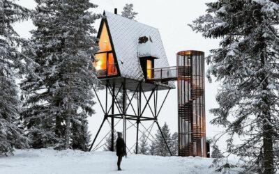 Cabin Architecture. Tre esperienza di vita immersa nella natura