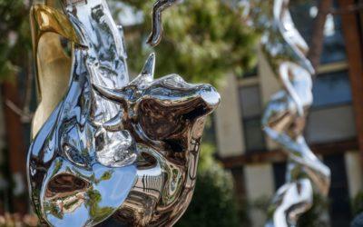 Le sculture in acciaio di Masoud Akhavanjam che raccontano mitologie Persiane. Arte a Venezia, Biennale 2019
