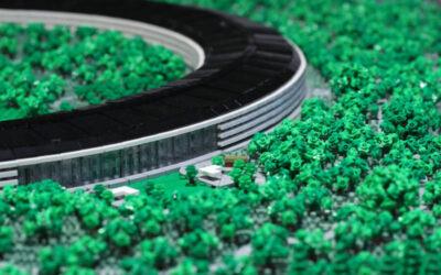 Il LEGO del campus di Apple a Cupertino