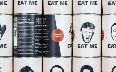 L'artista Spike Dennis che propone il cannibalismo come soluzione al climate change