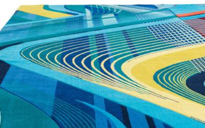 I tappeti che riprendono le linee delle architetture di Zaha Hadid