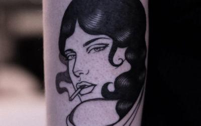 L'attrazione dei volti di donne nei tatuaggi di Lydia Marier