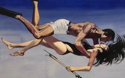 L'illustratore che s'ispira ai vecchi poster di James Bond