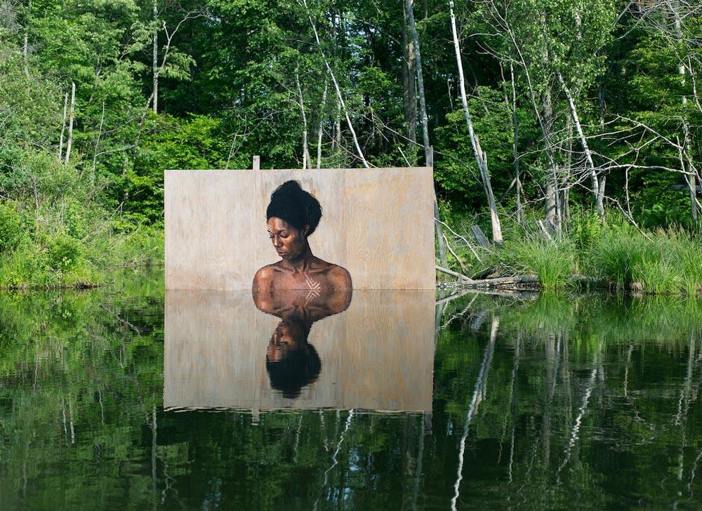murales acquatici di Sean Yoro