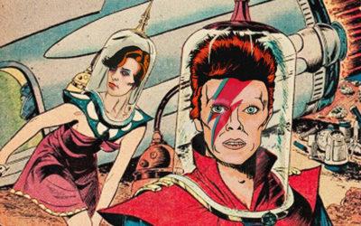 Le canzoni di David Bowie diventano fumetti vintage