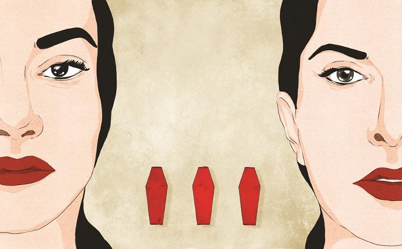 La vita di Marina Abramović nelle illustrazioni di Giulia Rosa