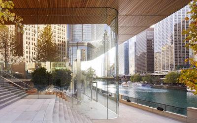 I più belli Apple Store progettati da Foster + Parnters