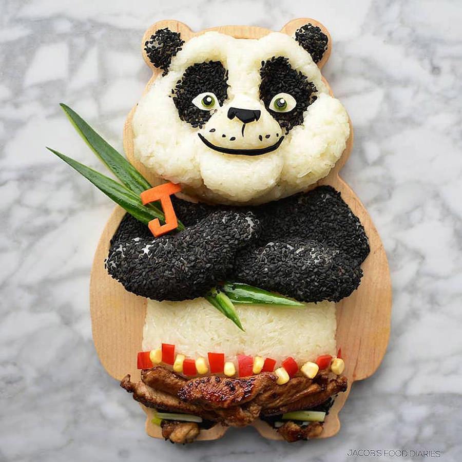 Laleh Mohmedi food art
