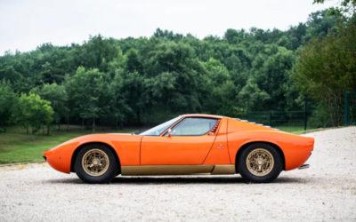 Probabilmente una delle auto più belle al mondo, Lamborghini Miura P400 del 1967