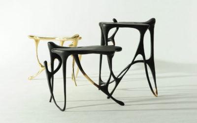 I mobili ispirati alla pittura a inchiostro cinese di Apiwat Chitapanya
