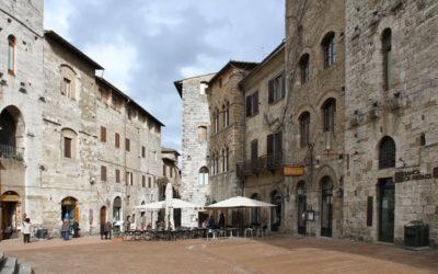 San Gimignano, dove un architetto ha molto da imparare