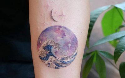 I tatuaggi rotondi di Havva Karabudak