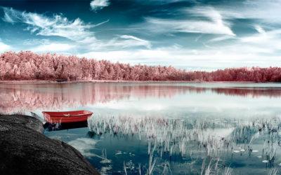 La fredda bellezza della Norvegia agli infrarossi, Yann Philippe