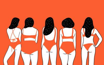 La realtà delle donne nelle illustrazioni minimali di Agathe Sorlet