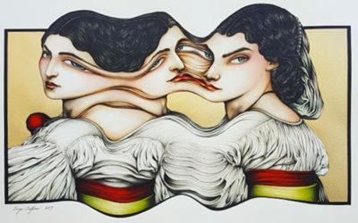 Splendide illustrazioni fatte a mano di Diego Delfino