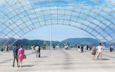 La magia del cinema di Hollywood nella sfera di cristallo di Renzo Piano