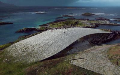 The Whale, il poetico edificio a forma di balena in Norvegia