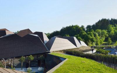 Il tetto geometrico delle più belle terme della Slovenia, Enota
