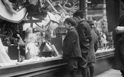 Una New York sotto Natale del 1910