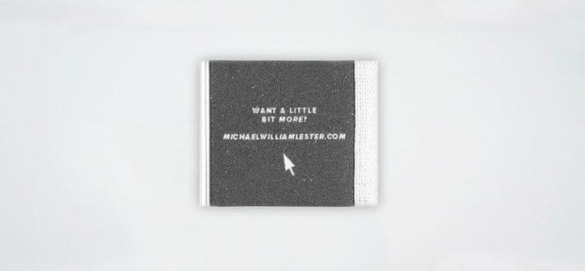 Il portfolio più piccolo del mondo