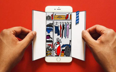 Uno smartphone come tela, Anshuman Ghosh
