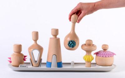 Gli interessanti giocattoli terapeutici in legno di Yaara Nusboim