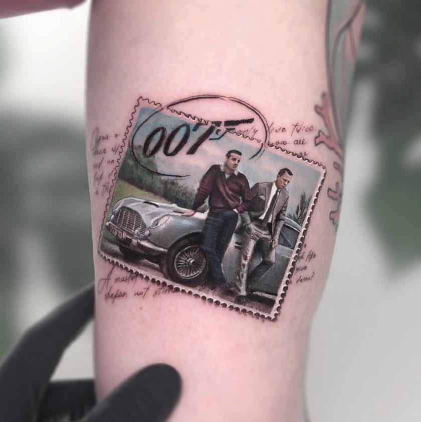 opere d'arte tatuaggi
