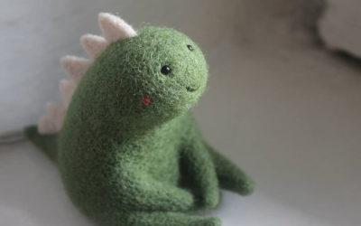 Le piccole creature in lana infeltrita di Nastasya Shuljak