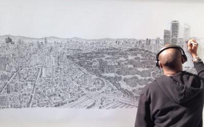 Disegni di intere città a memoria, l'eccezionale talento di Stephen Wiltshire
