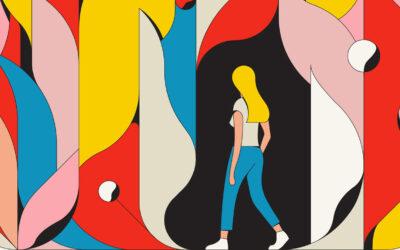 Le eccentriche illustrazioni retrò di Calvin Sprague