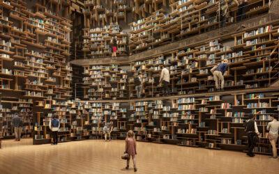 Il Museo della Cultura di Kadokawa progettato da Kengo Kuma