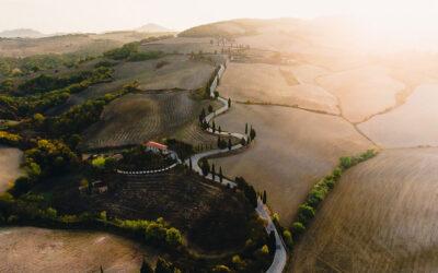 Una poetica Toscana vista dall'alto da Gabor Nagy